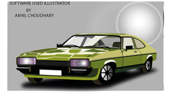 Graphicdesign work car 7